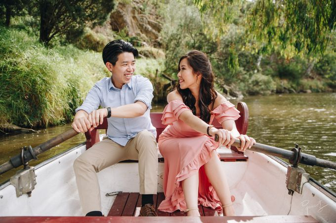 Yarra River outdoor pre wedding by Photo by James Lee - 004
