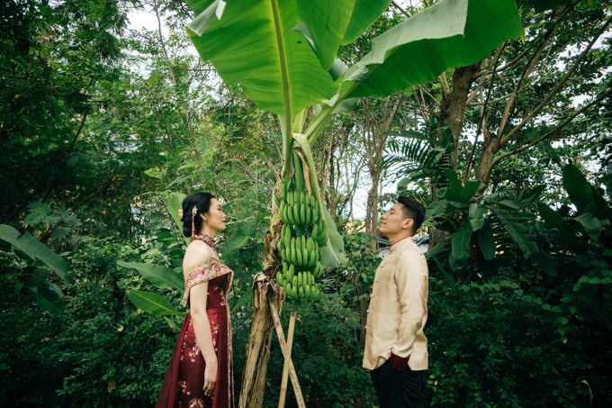 Christian & Jessica Tingjin Ceremony by Macherie dressmaker - 011
