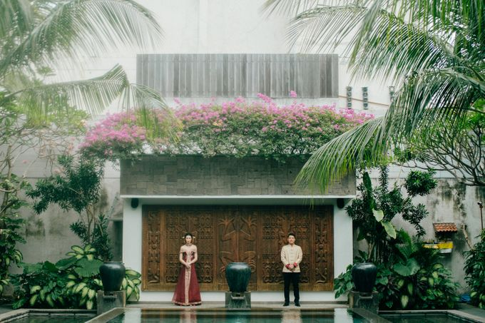 Christian & Jessica Tingjin Ceremony by Macherie dressmaker - 003