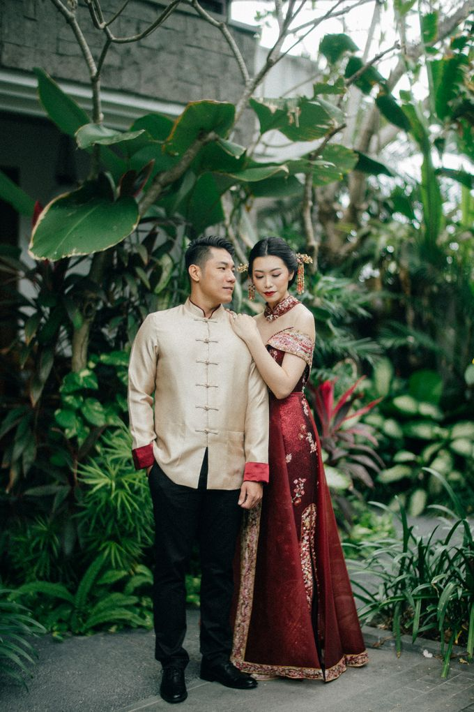 Christian & Jessica Tingjin Ceremony by Macherie dressmaker - 004