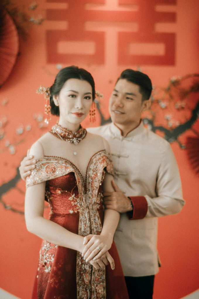 Christian & Jessica Tingjin Ceremony by Macherie dressmaker - 010