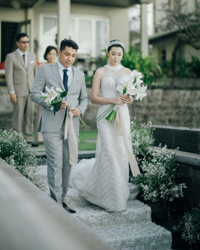 Christian & Jessica Wedding Day by Macherie dressmaker - 006