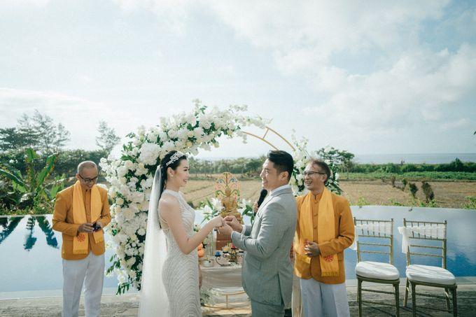 Christian & Jessica Wedding Day by Macherie dressmaker - 008