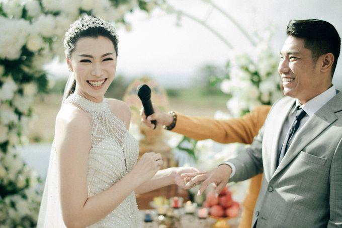 Christian & Jessica Wedding Day by Macherie dressmaker - 009