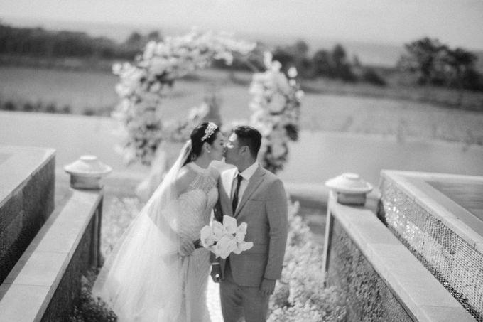 Christian & Jessica Wedding Day by Macherie dressmaker - 010