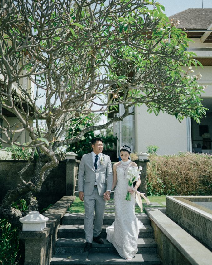 Christian & Jessica Wedding Day by Macherie dressmaker - 005