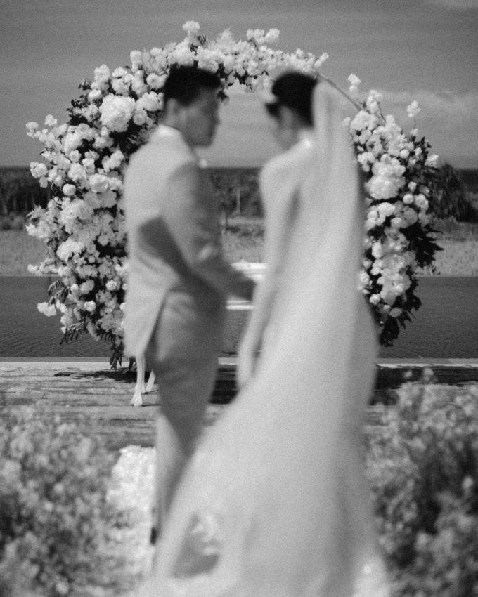 Christian & Jessica Wedding Day by Macherie dressmaker - 015