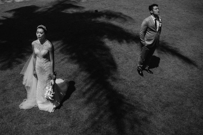 Christian & Jessica Wedding Day by Macherie dressmaker - 017