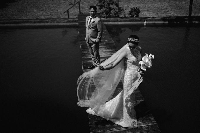Christian & Jessica Wedding Day by Macherie dressmaker - 021