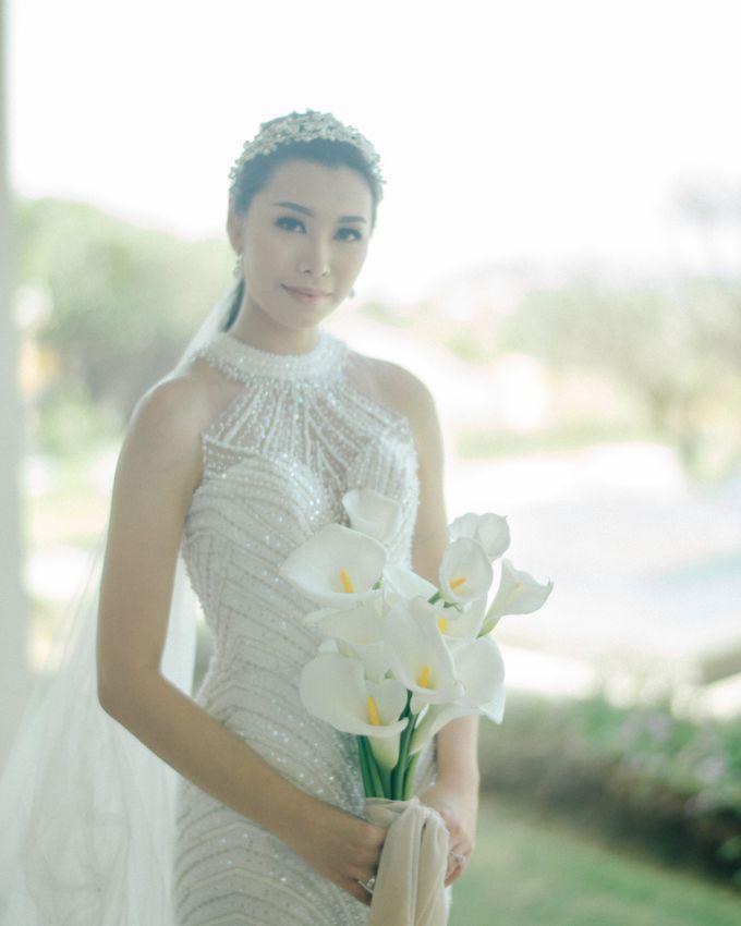 Christian & Jessica Wedding Day by Macherie dressmaker - 019