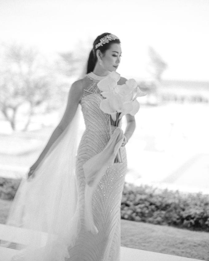 Christian & Jessica Wedding Day by Macherie dressmaker - 001