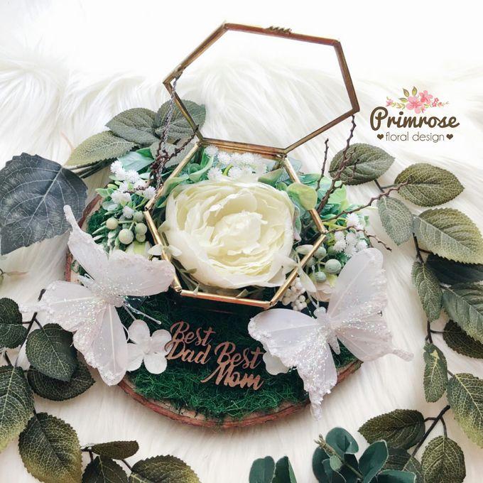 Wedding Ring Box by Primrose Floral Design - 032