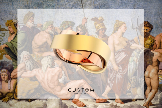 Wedding bands catalog his and hers by Custom Solitaires, LLC - 007