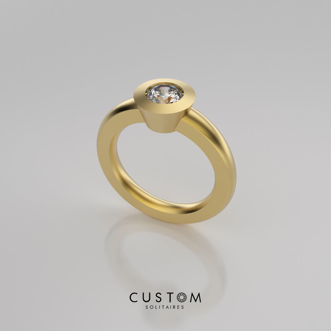 Wedding bands catalog his and hers by Custom Solitaires, LLC - 008