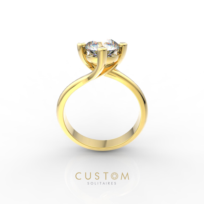 Wedding bands catalog his and hers by Custom Solitaires, LLC - 013