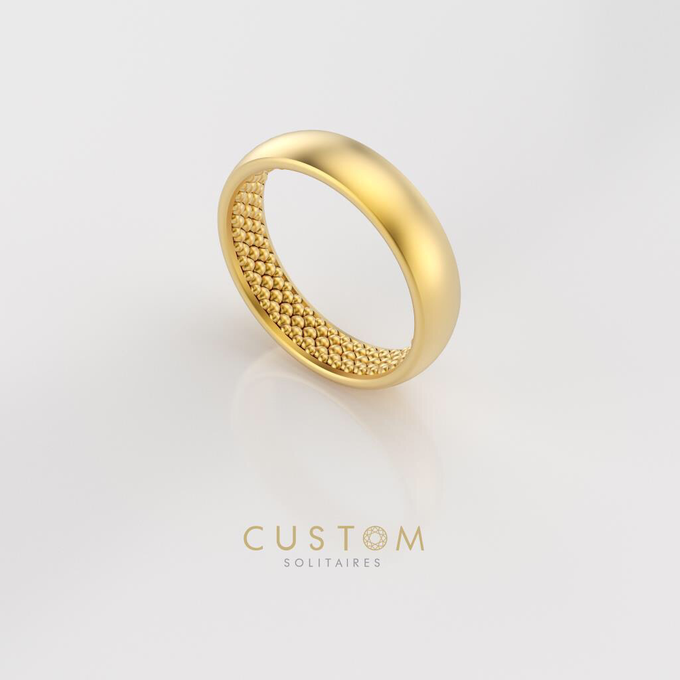 Wedding bands catalog his and hers by Custom Solitaires, LLC - 016