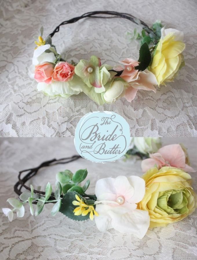 CUSTOM FLOWER CROWN by The Bride and Butter - 007