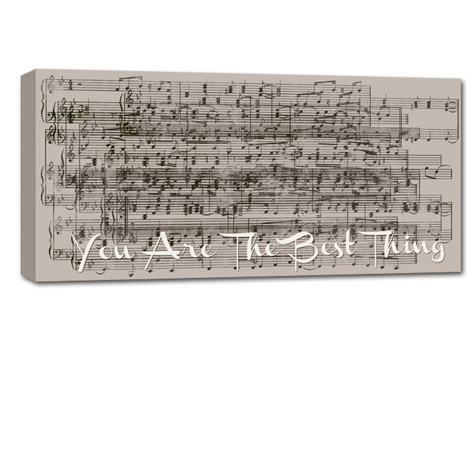 Sheet Music Canvas by Geezees Custom Canvas - 002
