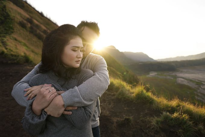 CIPUTRA & VICKE - BROMO by AB Photographs - 016