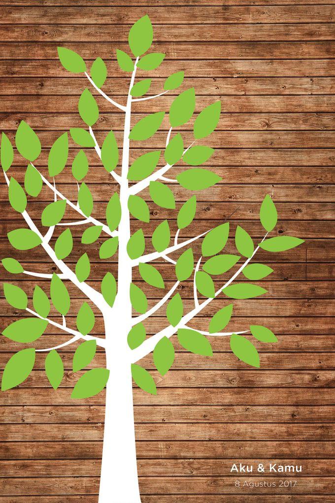 Canvas Guestbook Wedding Artwork (Tree-02) by Bikinseru.aja - 002