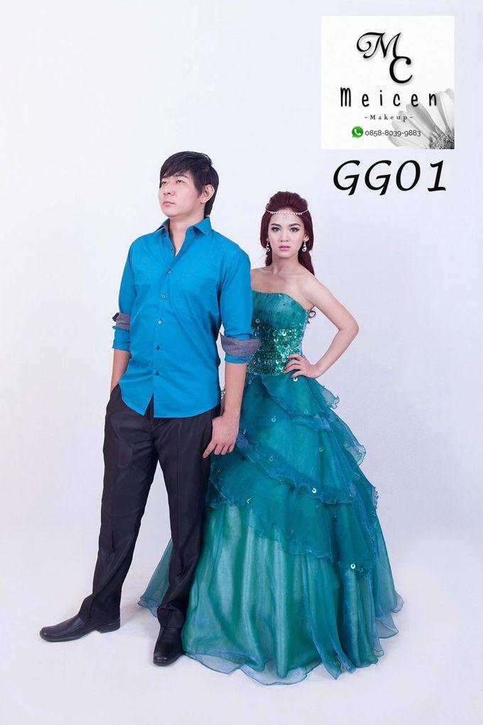 Gaun Disewakan by Meicen Professional Makeup Artist - 004