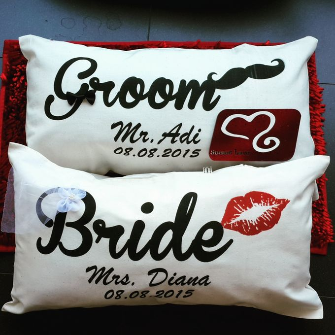 Wedding Pillow by Sweetlovecollection - 030