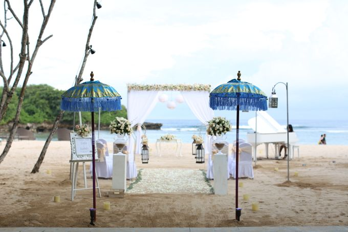 Wedding Ceremony Decoration by Courtyard by Marriott Bali Nusa Dua - 028