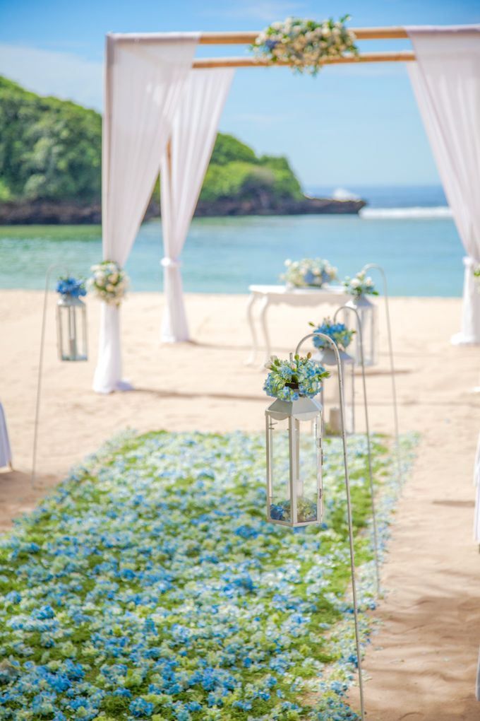 Wedding Ceremony Decoration by Courtyard by Marriott Bali Nusa Dua - 030