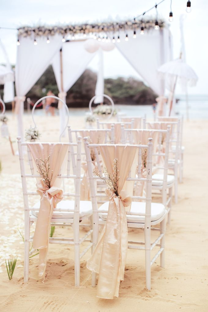 Wedding Ceremony Decoration by Courtyard by Marriott Bali Nusa Dua - 033
