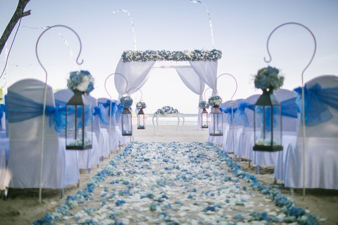 Wedding Ceremony Decoration by Courtyard by Marriott Bali Nusa Dua - 024