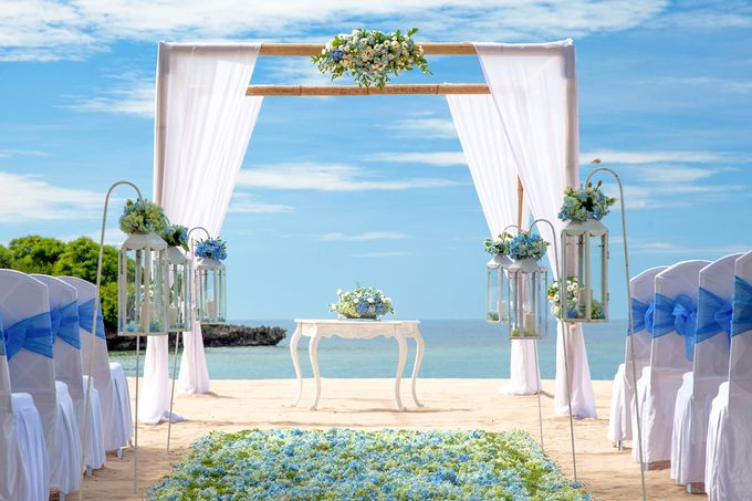 Wedding Ceremony Decoration by Courtyard by Marriott Bali Nusa Dua - 022