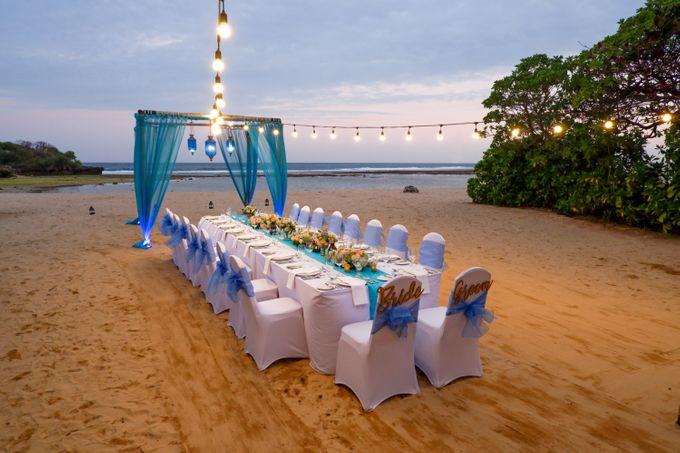 Wedding Dinner by Courtyard by Marriott Bali Nusa Dua - 007