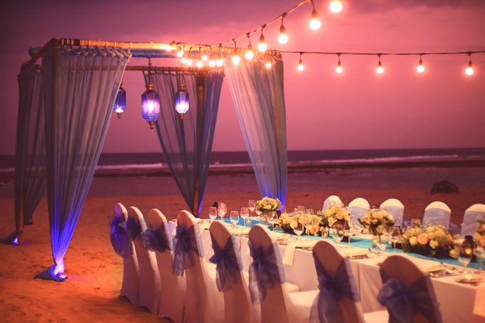 Wedding Dinner by Courtyard by Marriott Bali Nusa Dua - 005