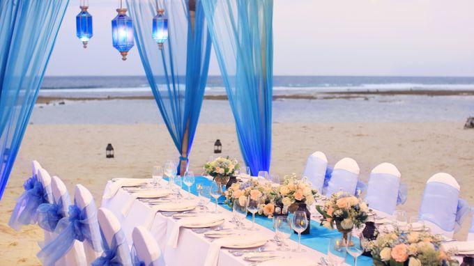 Wedding Dinner by Courtyard by Marriott Bali Nusa Dua - 003
