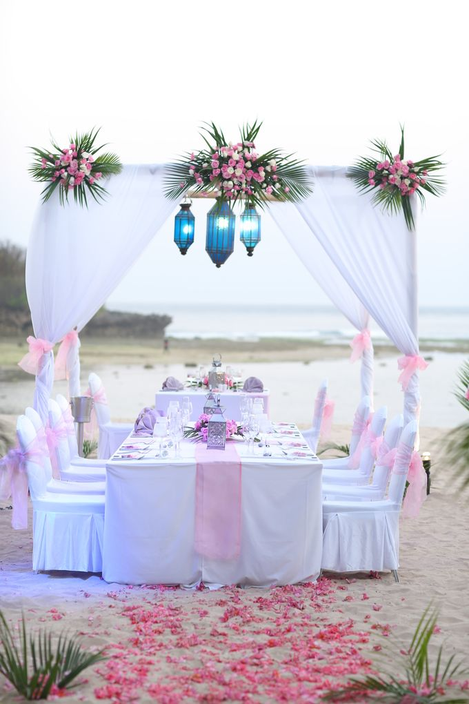 Wedding Dinner by Courtyard by Marriott Bali Nusa Dua - 018