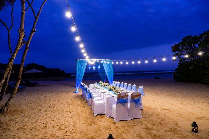 Wedding Dinner by Courtyard by Marriott Bali Nusa Dua - 004