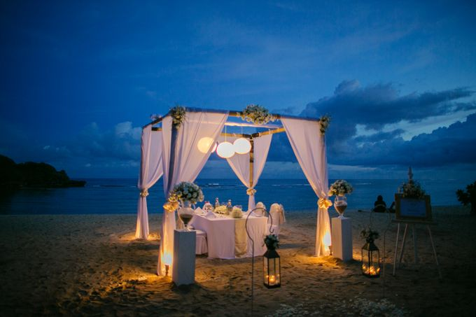 Wedding Dinner by Courtyard by Marriott Bali Nusa Dua - 020