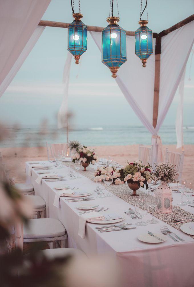Wedding Dinner by Courtyard by Marriott Bali Nusa Dua - 021