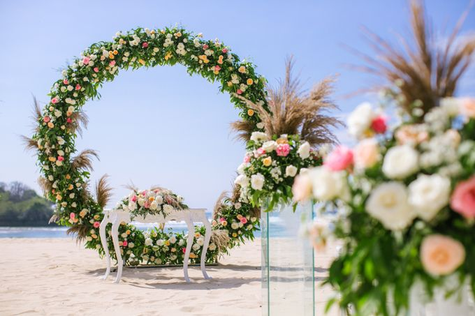 Wedding Ceremony Decoration by Courtyard by Marriott Bali Nusa Dua - 005