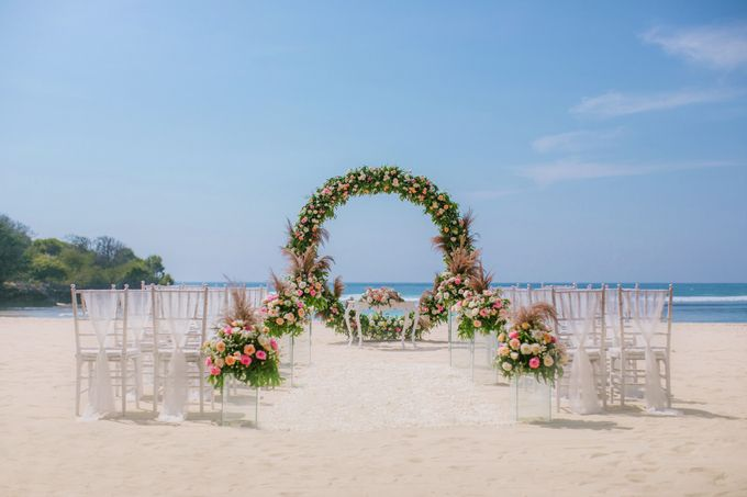 Wedding Ceremony Decoration by Courtyard by Marriott Bali Nusa Dua - 001