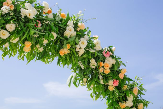 Wedding Ceremony Decoration by Courtyard by Marriott Bali Nusa Dua - 006