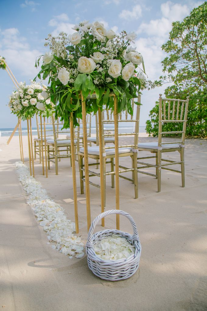Wedding Ceremony Decoration by Courtyard by Marriott Bali Nusa Dua - 014