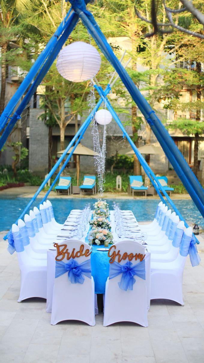 Wedding Dinner by Courtyard by Marriott Bali Nusa Dua - 010