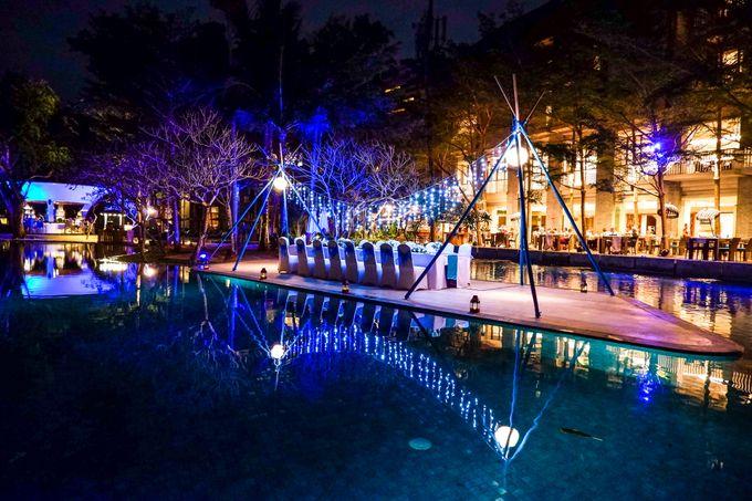 Wedding Dinner by Courtyard by Marriott Bali Nusa Dua - 008