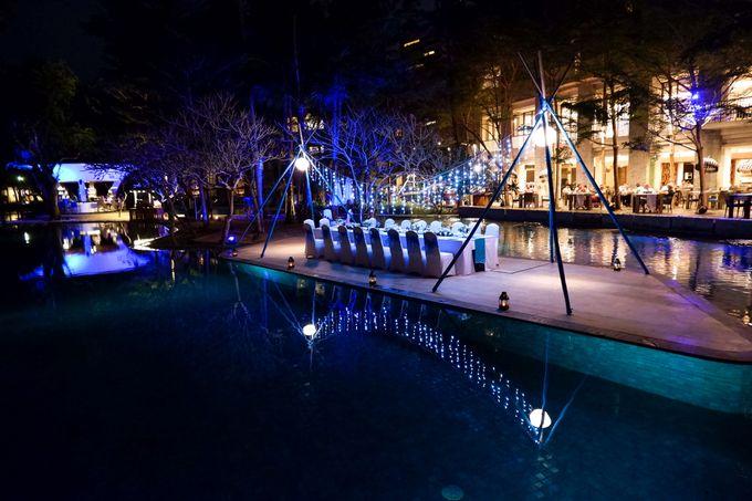 Wedding Dinner by Courtyard by Marriott Bali Nusa Dua - 009