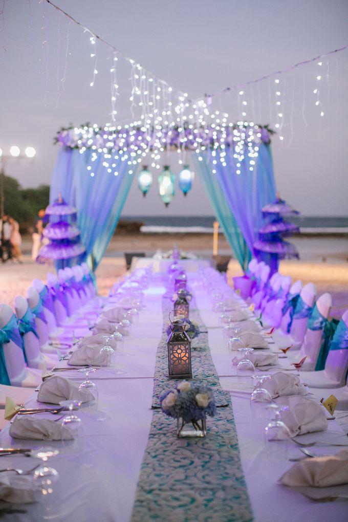 Wedding Dinner by Courtyard by Marriott Bali Nusa Dua - 015