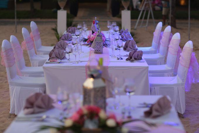 Wedding Dinner by Courtyard by Marriott Bali Nusa Dua - 016