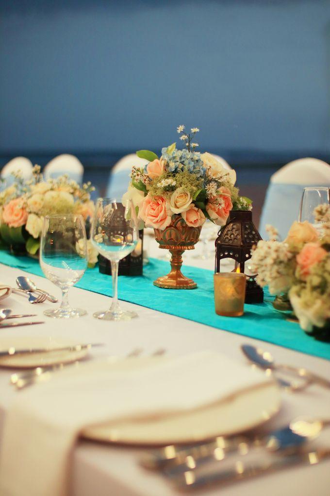 Wedding Dinner by Courtyard by Marriott Bali Nusa Dua - 012