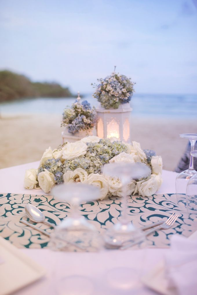 Wedding Dinner by Courtyard by Marriott Bali Nusa Dua - 019