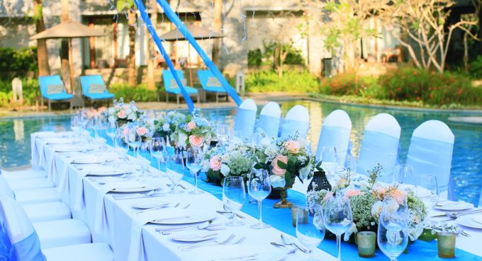 Wedding Dinner by Courtyard by Marriott Bali Nusa Dua - 014